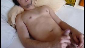 Damon Strokes His Cock