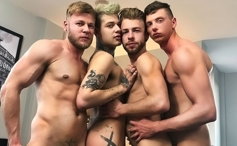 Billy Rock, Matthew Anders, Gabriel Phoenix & Mickey Taylor